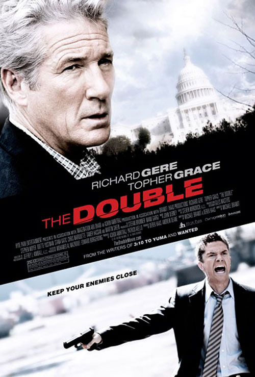 trailer and poster for the double starring richard gere