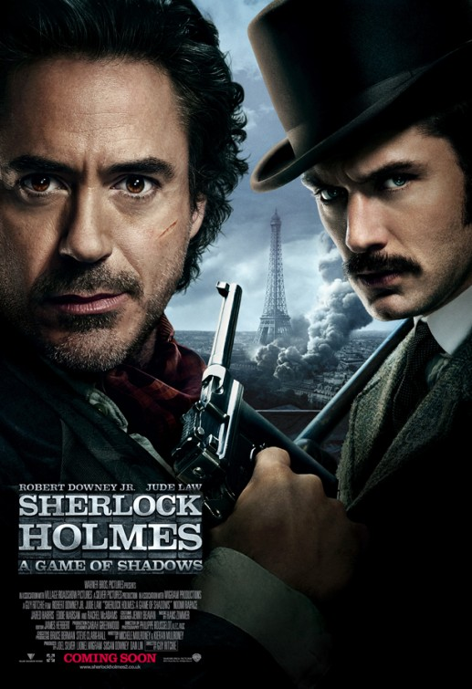 SHERLOCK HOLMES: A GAME OF SHADOWS review by Gary Murray ...
