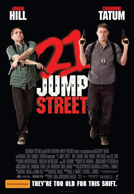 New Movie Posters 21 JUMP STREET FRIENDS WITH KIDS RESIDENT EVIL
