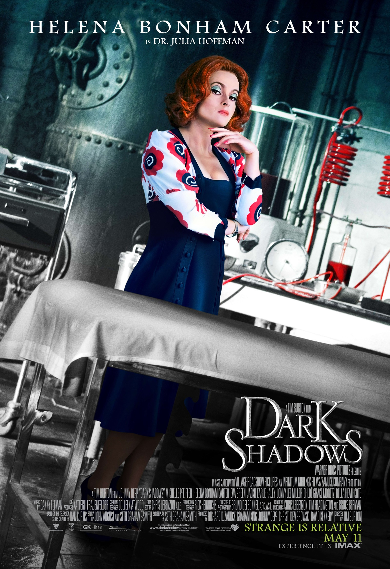 New Movie Posters: BEL AMI, DARK SHADOWS, TITANIC 3D ...