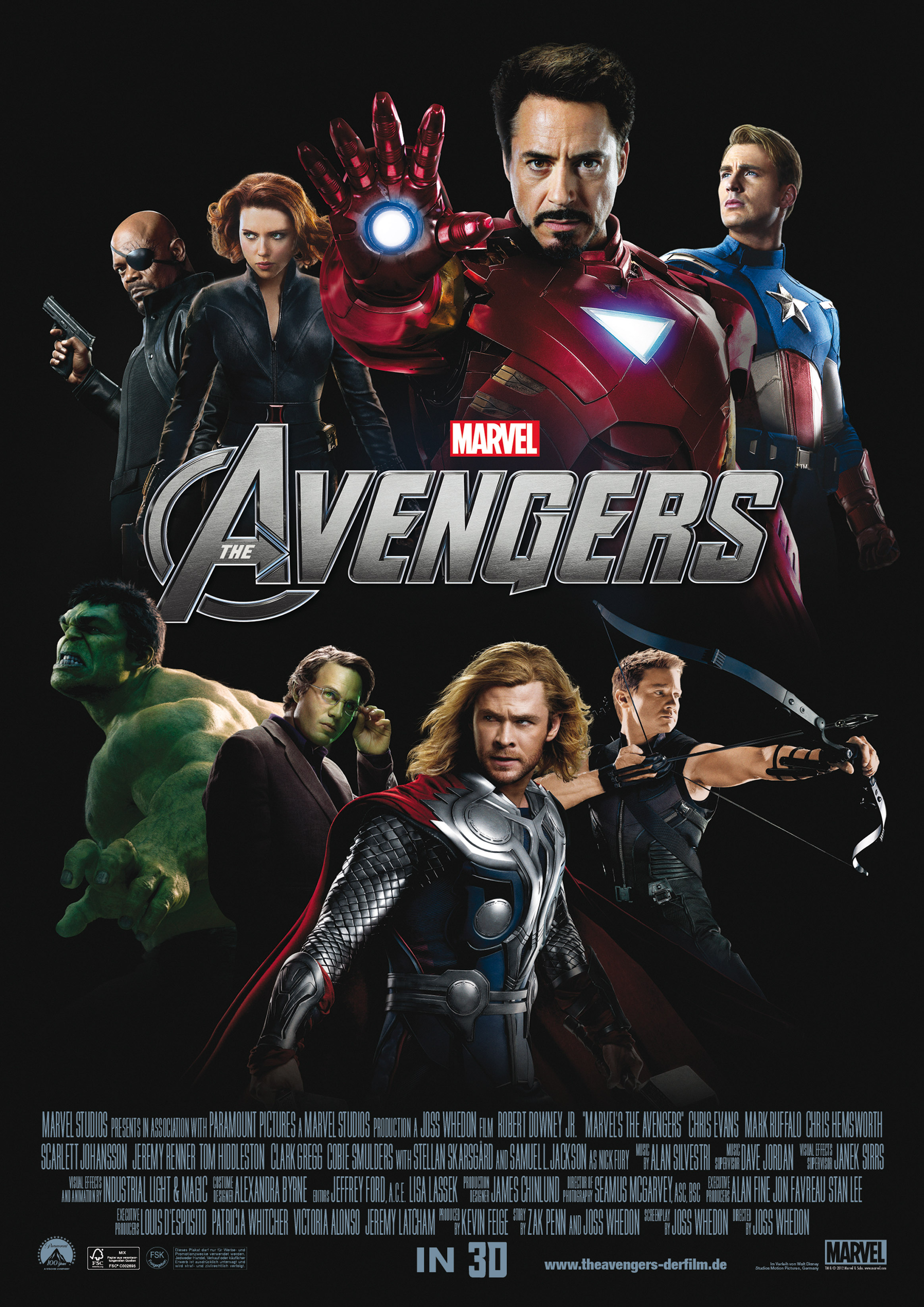 Marvel's THE AVENGERS - New Poster, Featurettes, Cast ...