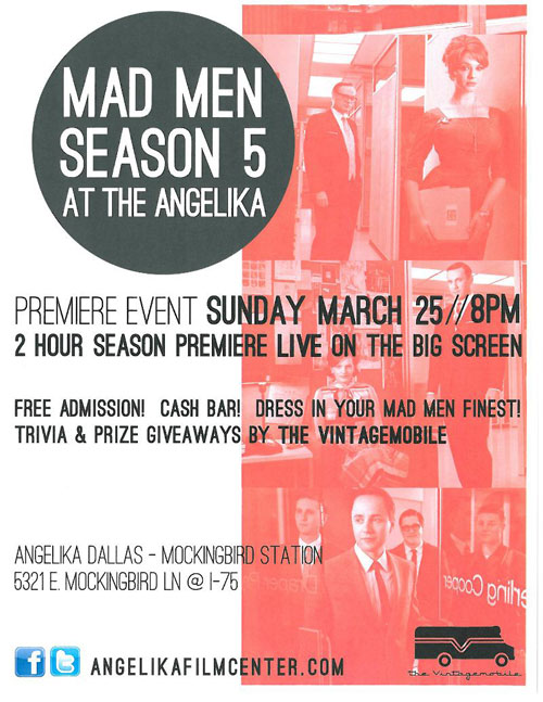 watch mad men season 5 us on the angelika big screen in have you been watching mad men