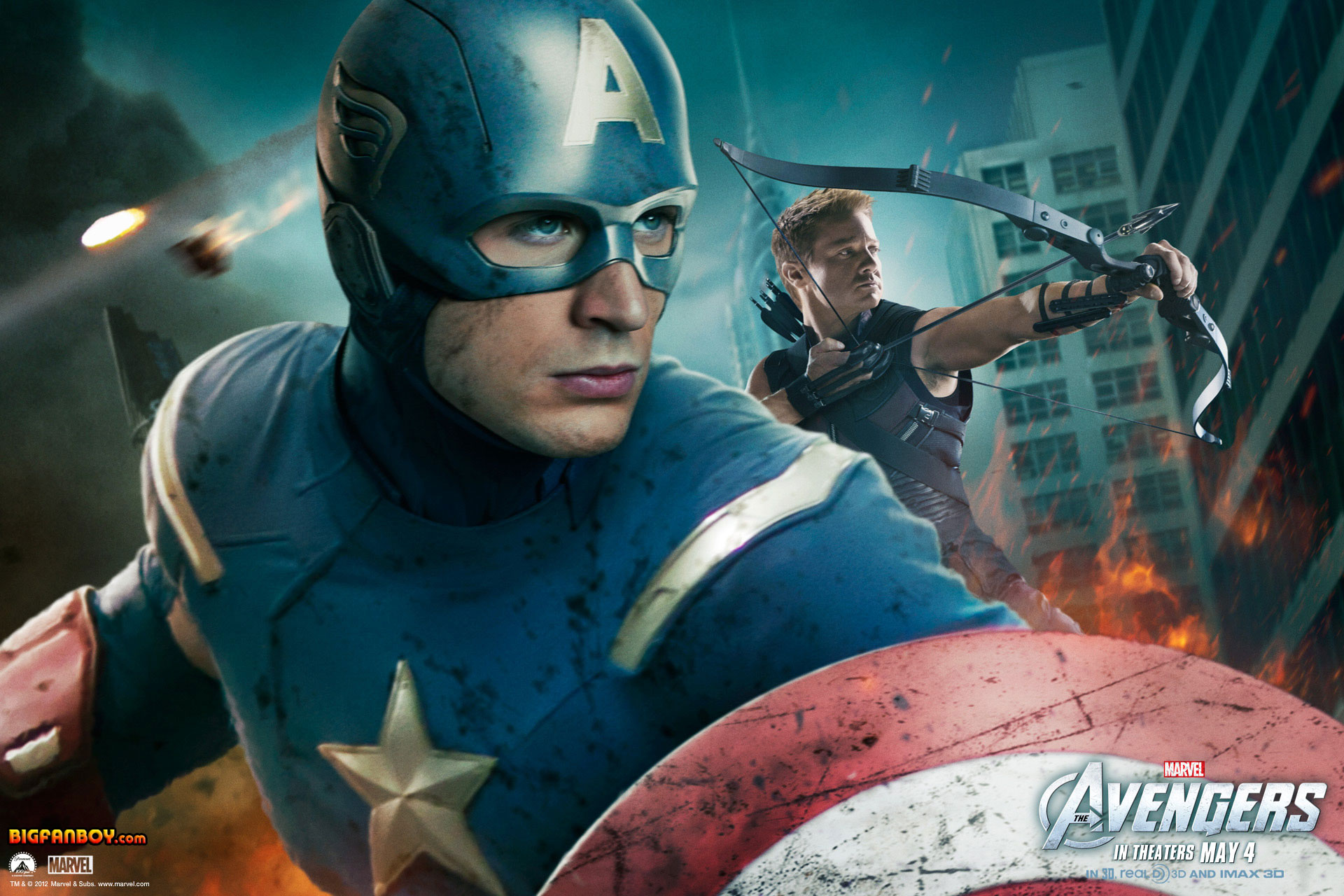 Download marvel 39 s the avengers wallpapers for your desktop - Image captain america ...