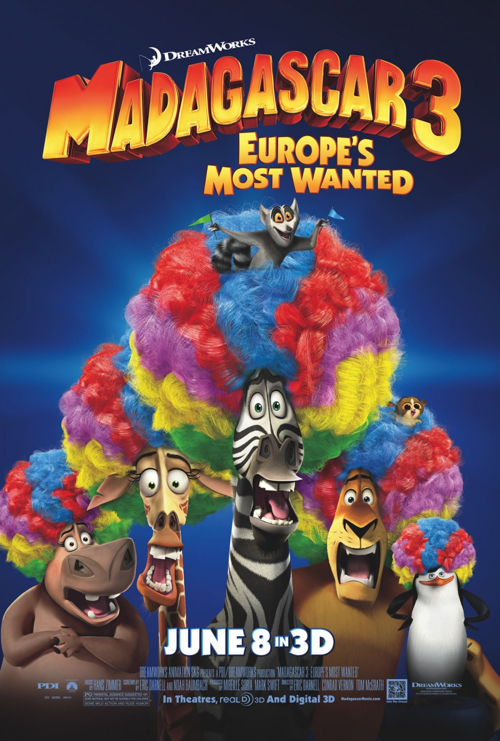 madagascar 3 poster - photo #3