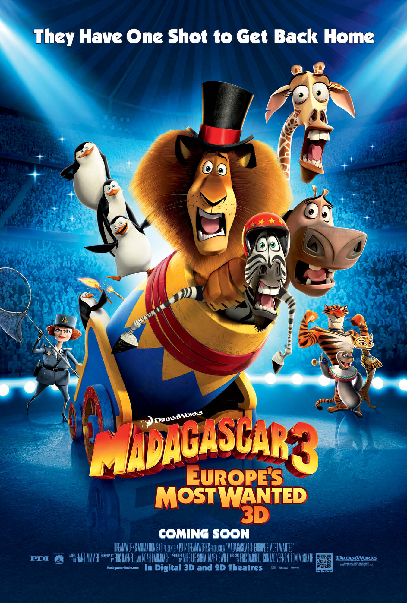 madagascar 3 poster - photo #2