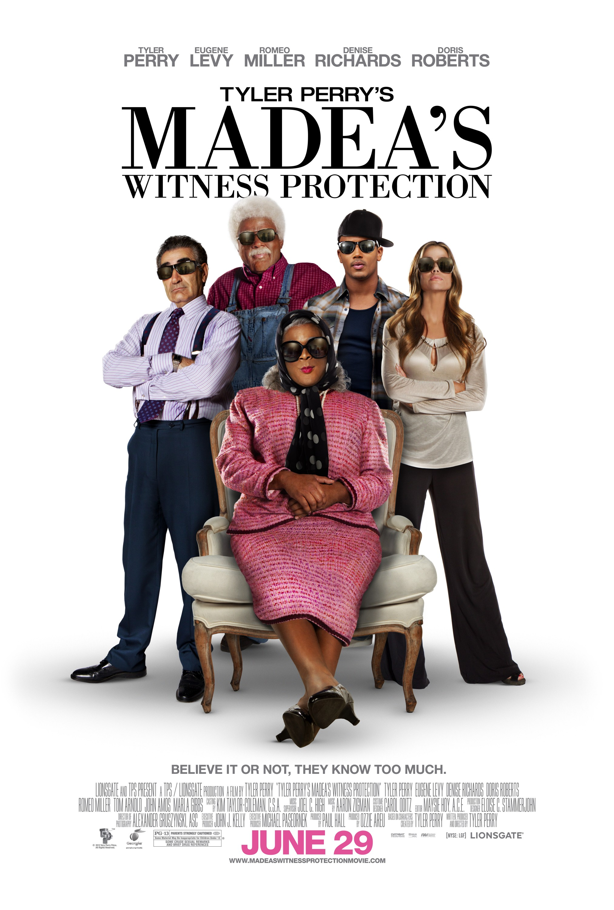 Release Day Round Up: TYLER PERRY'S MADEA'S WITNESS ...