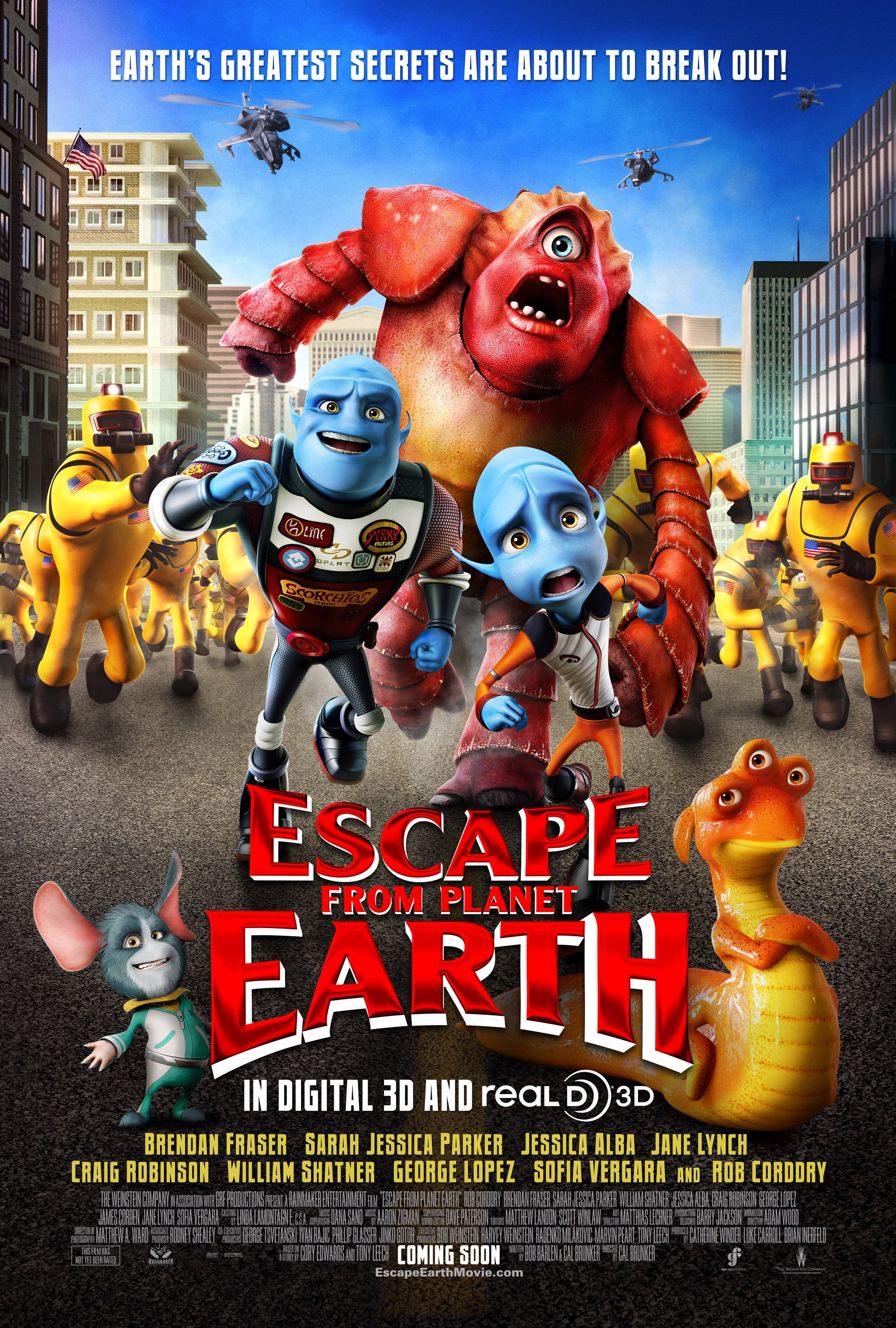 214 - Escape From Planet Earth