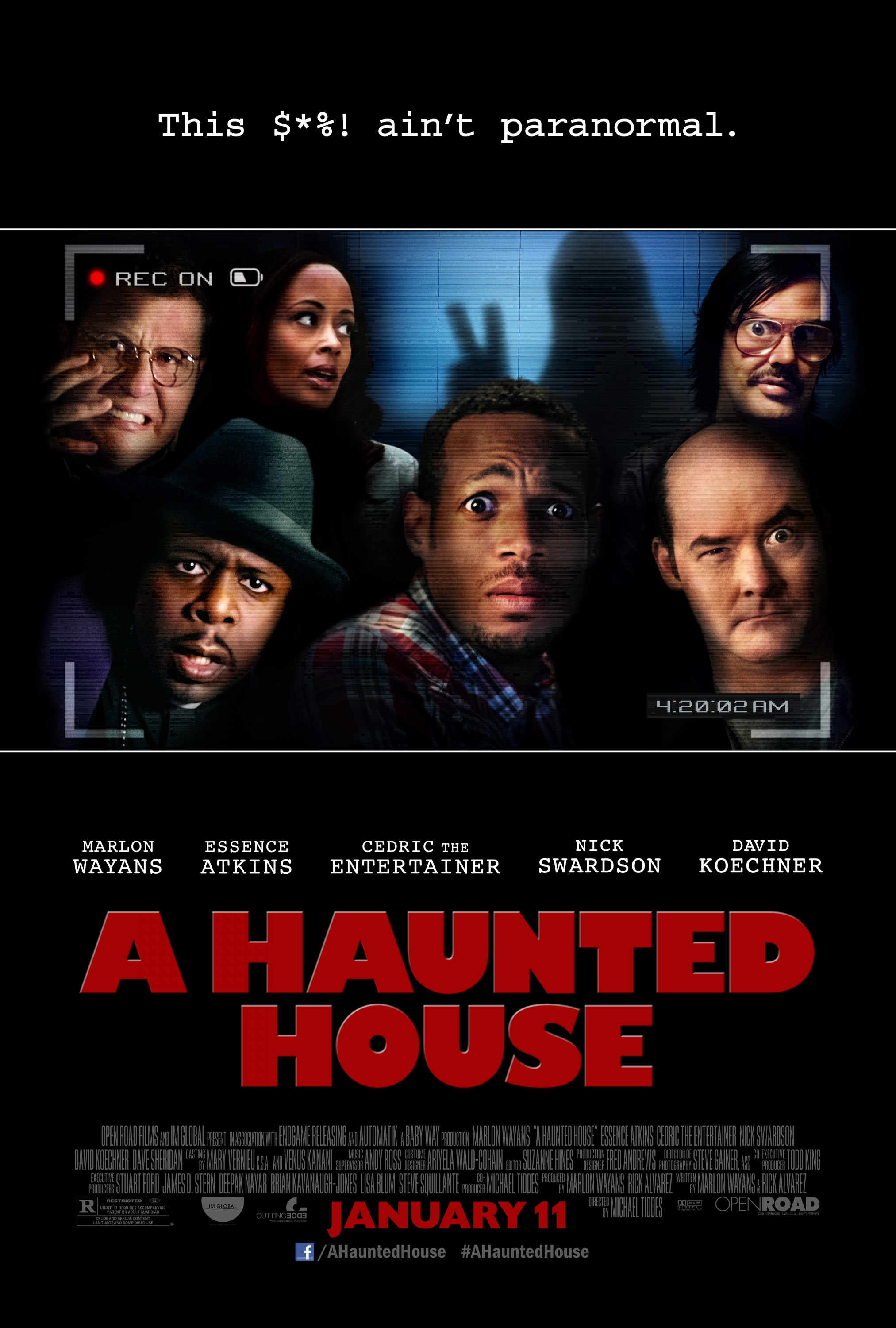 A Haunted House - Poster - 001