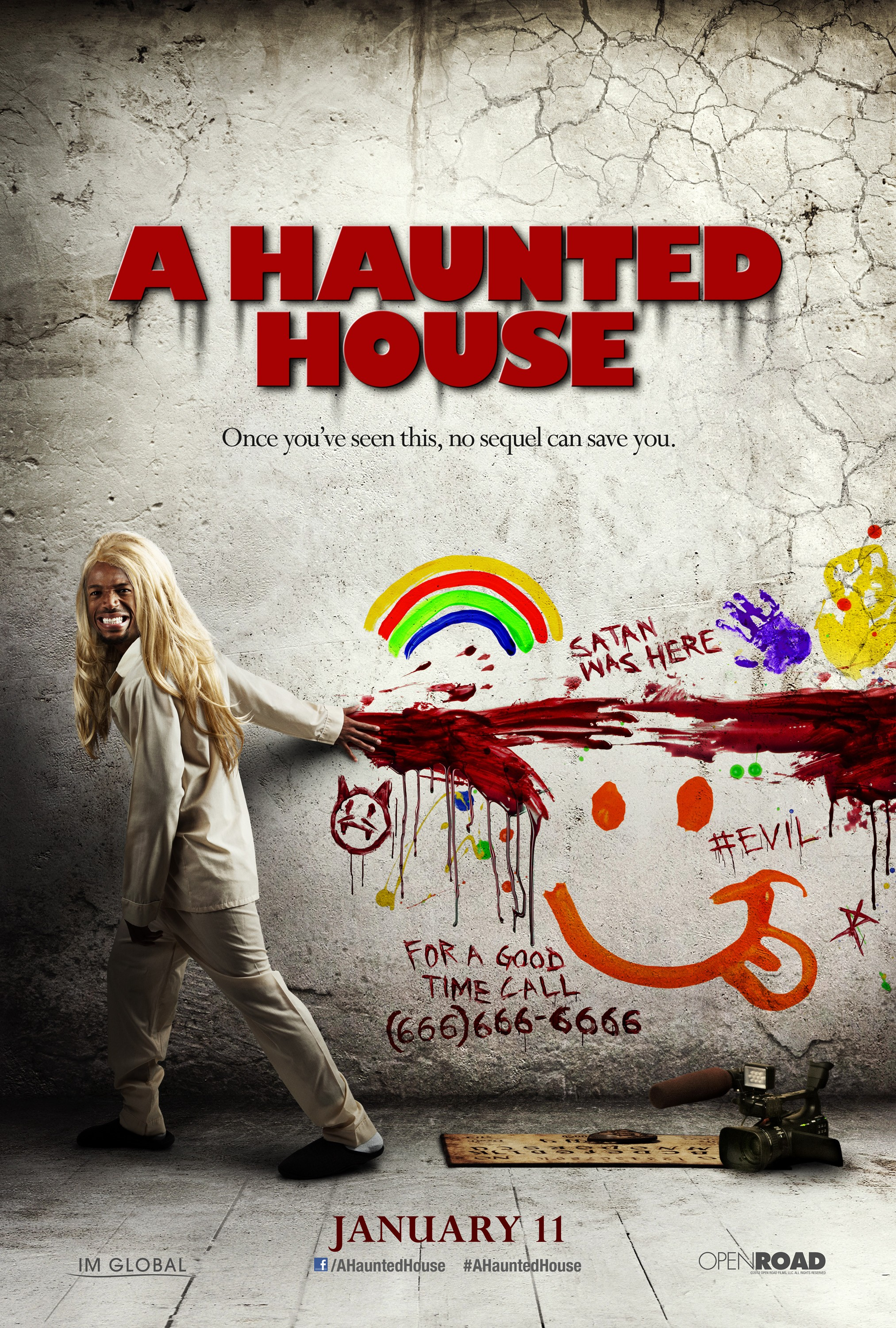 A Haunted House - Poster - 004