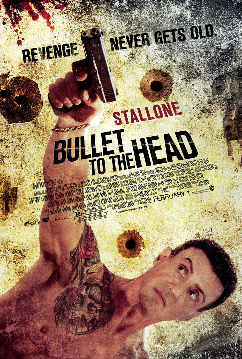 Bullet to the Head - Poster - 002