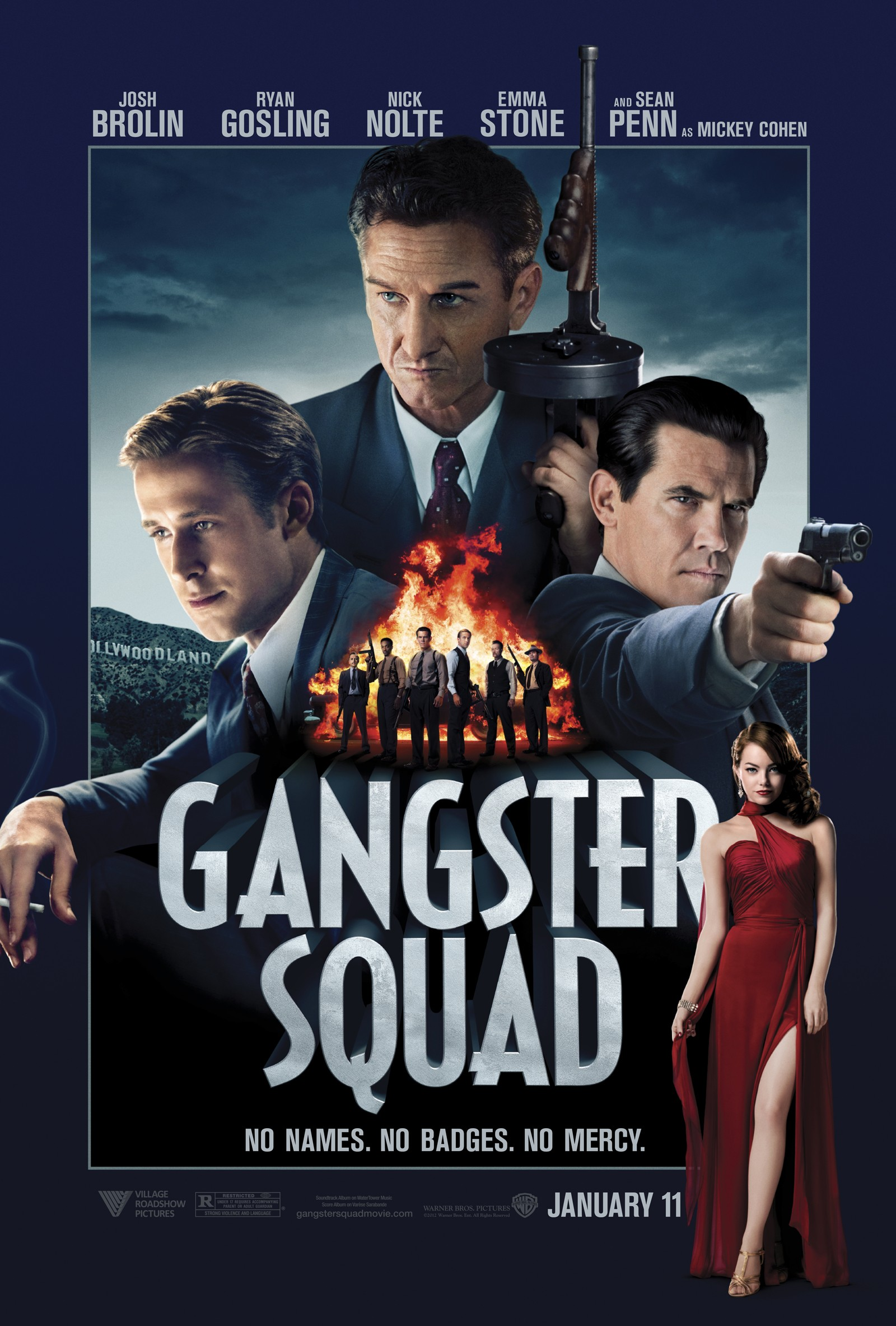 Gangster Squad - Poster - 001