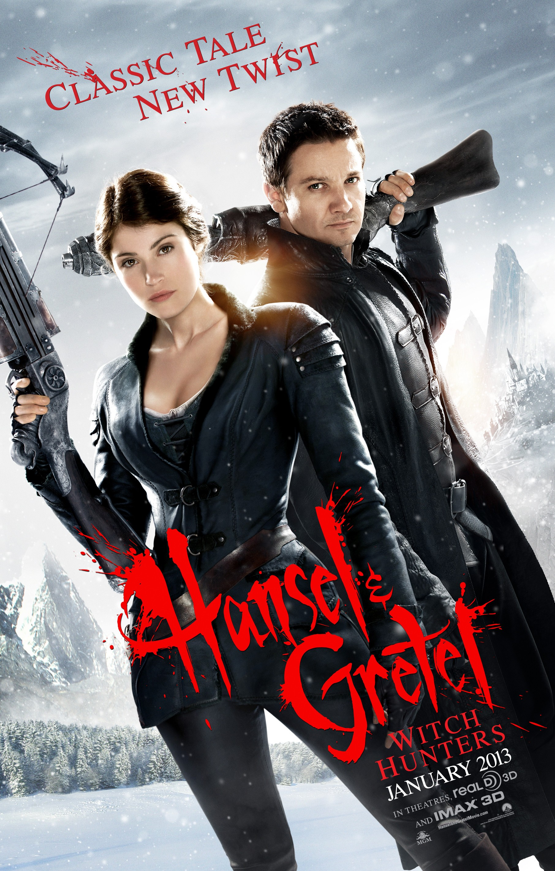 Hansel & Gretel Witch Hunters - Poster - 001