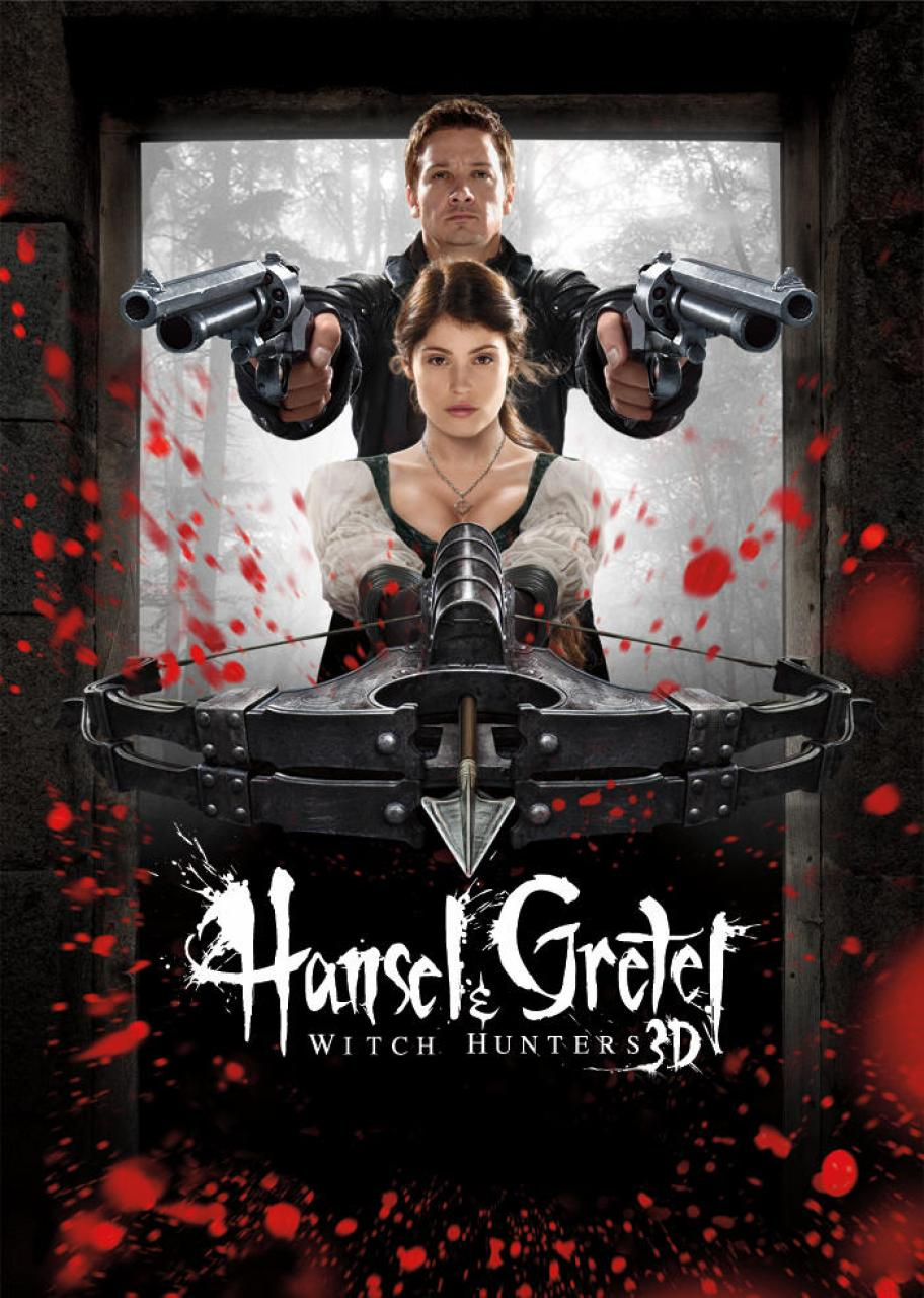 Hansel & Gretel Witch Hunters - Poster - 002