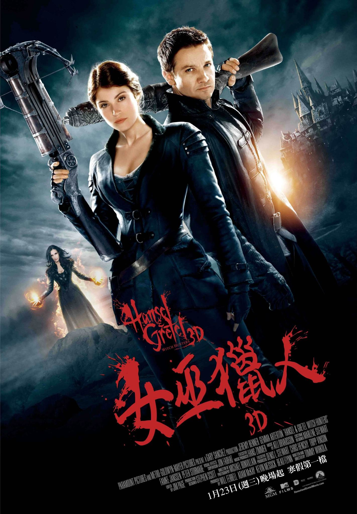 Hansel & Gretel Witch Hunters - Poster - 003