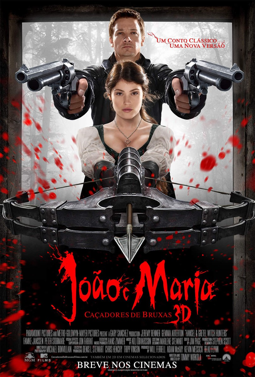 Hansel & Gretel Witch Hunters - Poster - 004