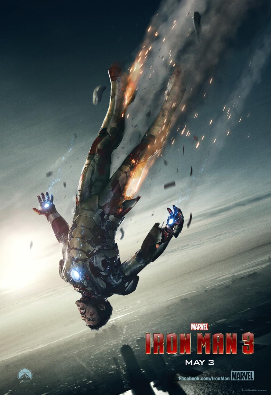 Iron Man 3 - Poster - 002