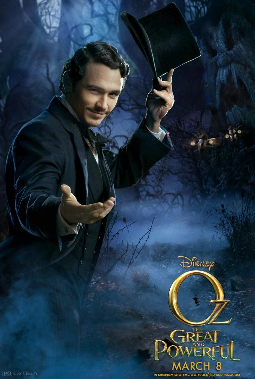 Oz The Great and Powerful - Poster - 007