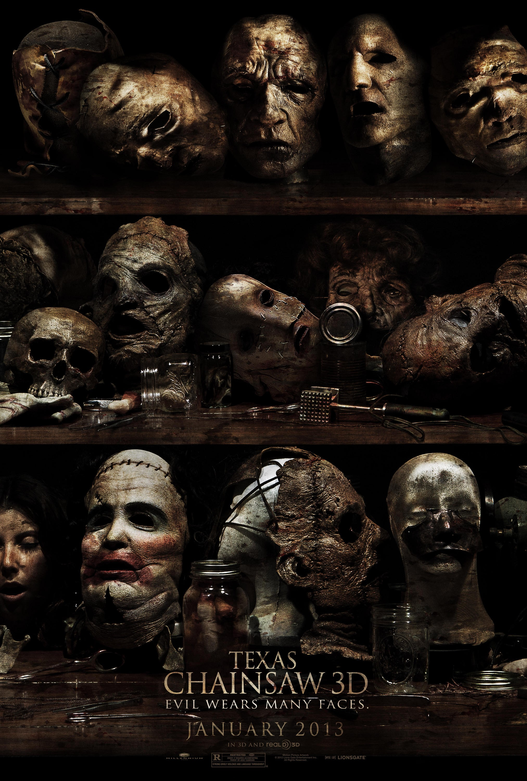 Texas Chainsaw 3D - Poster - 001