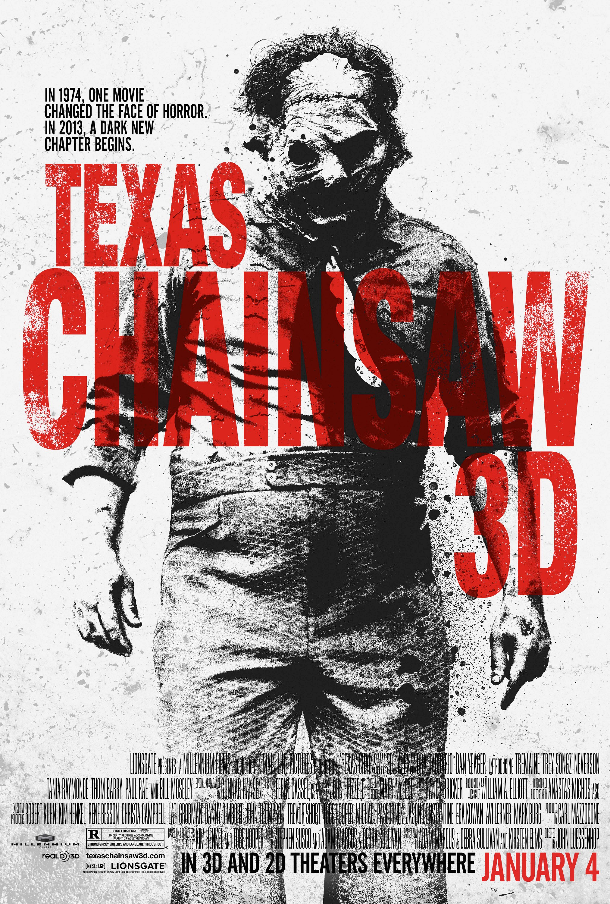 Texas Chainsaw 3D - Poster - 002