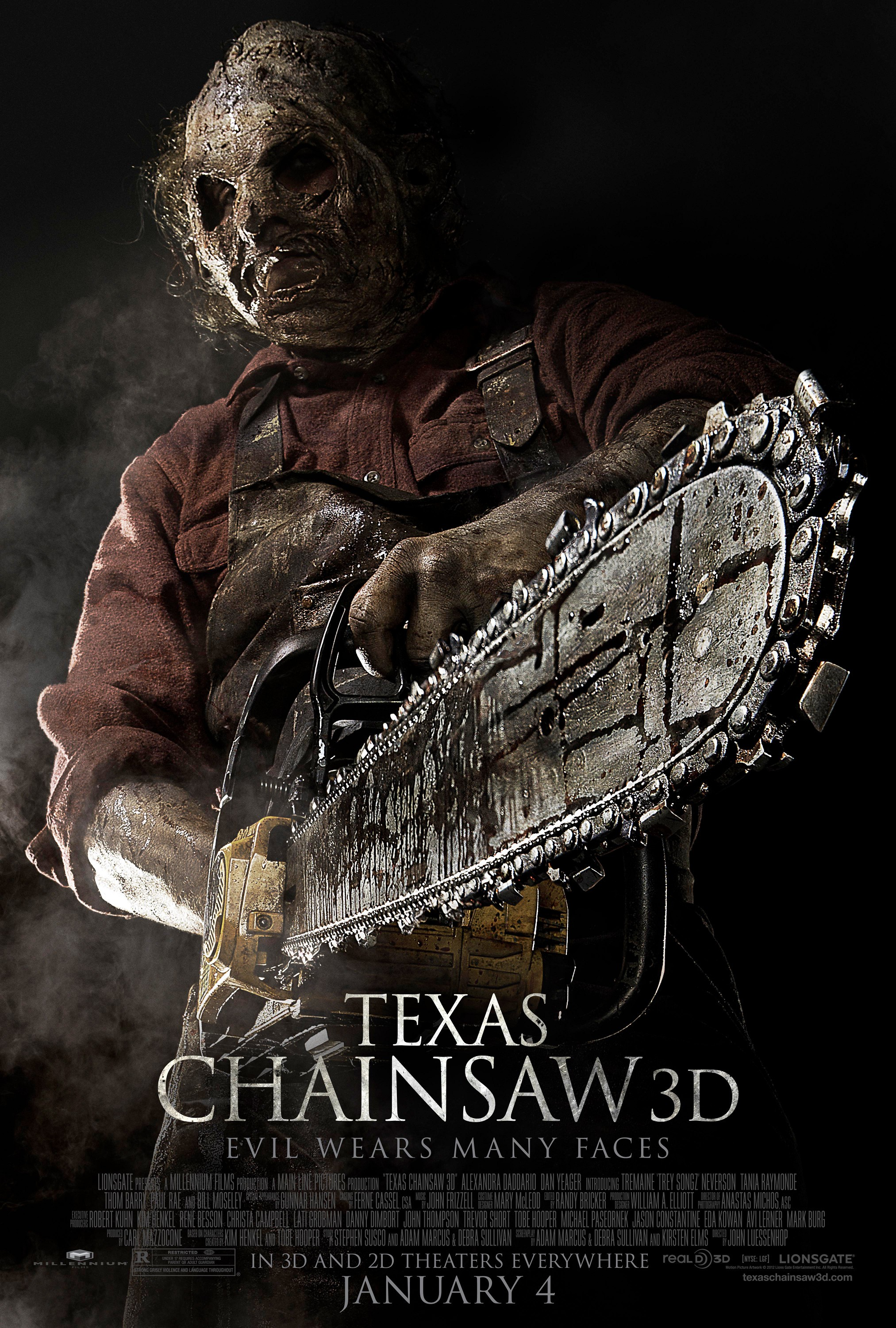 Texas Chainsaw 3D - Poster - 003