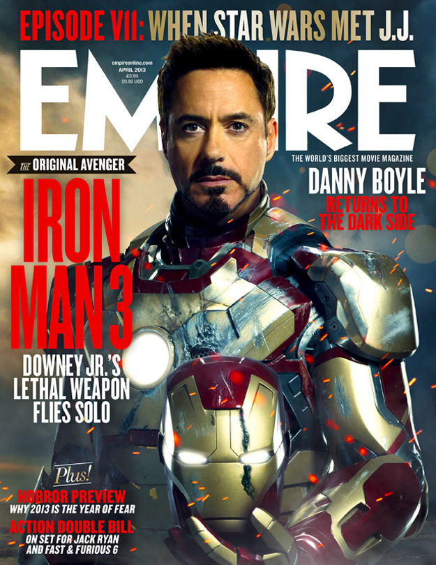 Iron Man 3 - Empire Cover - 001