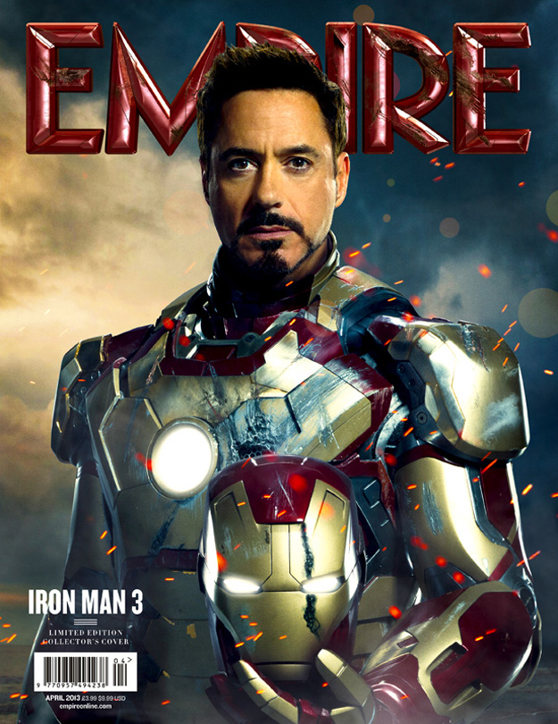 Iron Man 3 - Empire Cover - 002