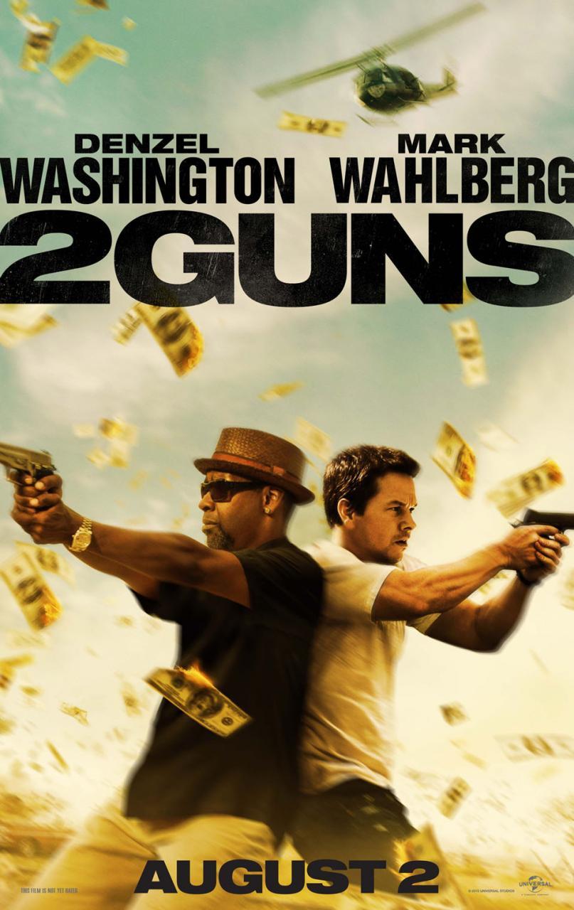 2 Guns - Poster - 001