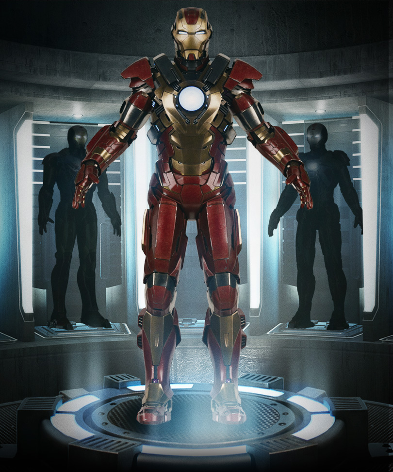 Iron Man 3 - Armors - Mark 17 (Heartbreaker - Full)