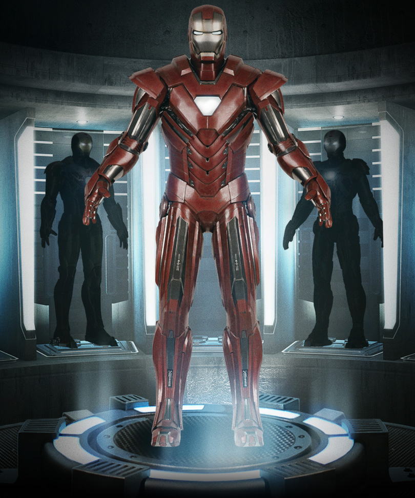 Iron Man 3 - Armors - Mark 33 (Silver Centurion - Full)