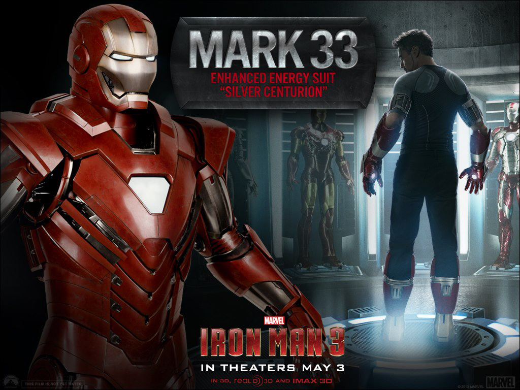 Iron Man 3 - Armors - Mark 33 (Silver Centurion)