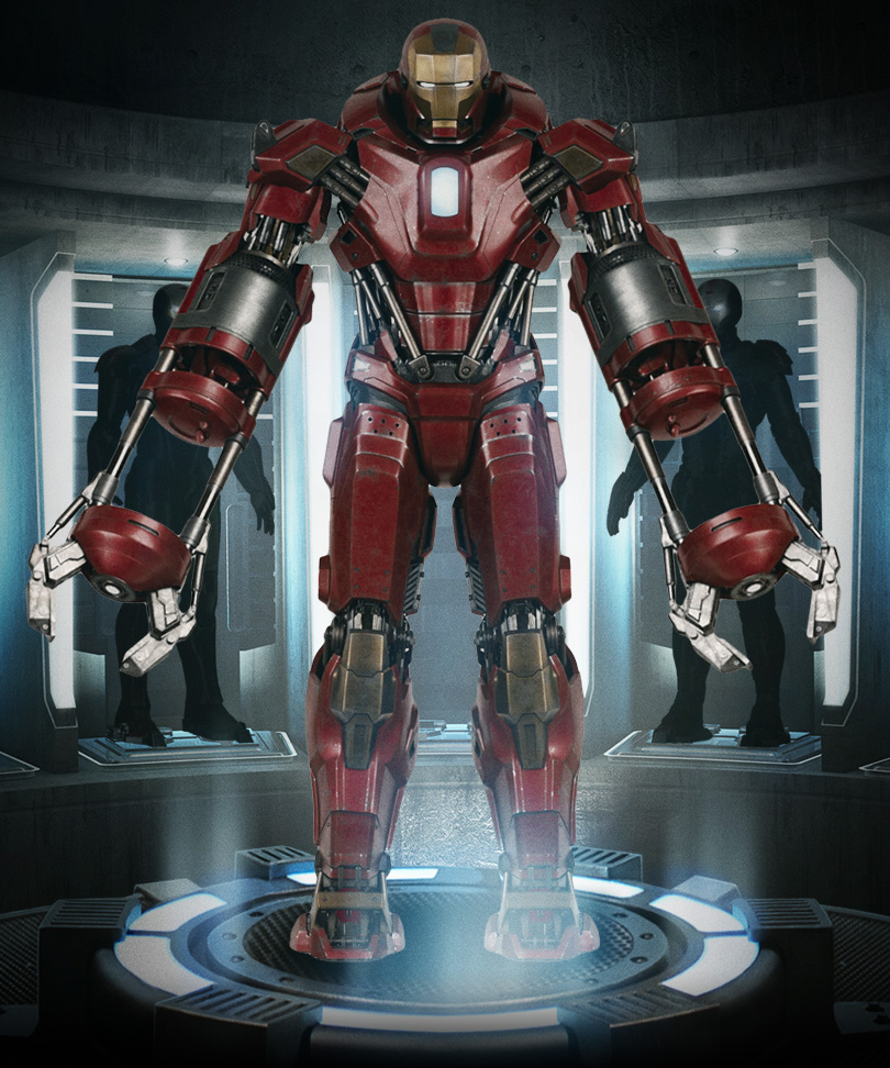 Iron Man 3 - Armors - Mark 35 (Red Snapper - Full)