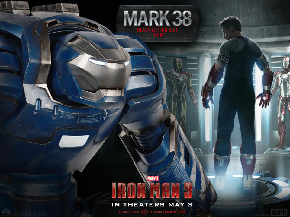 Iron Man 3 - Armors - Mark 38 (Igor)