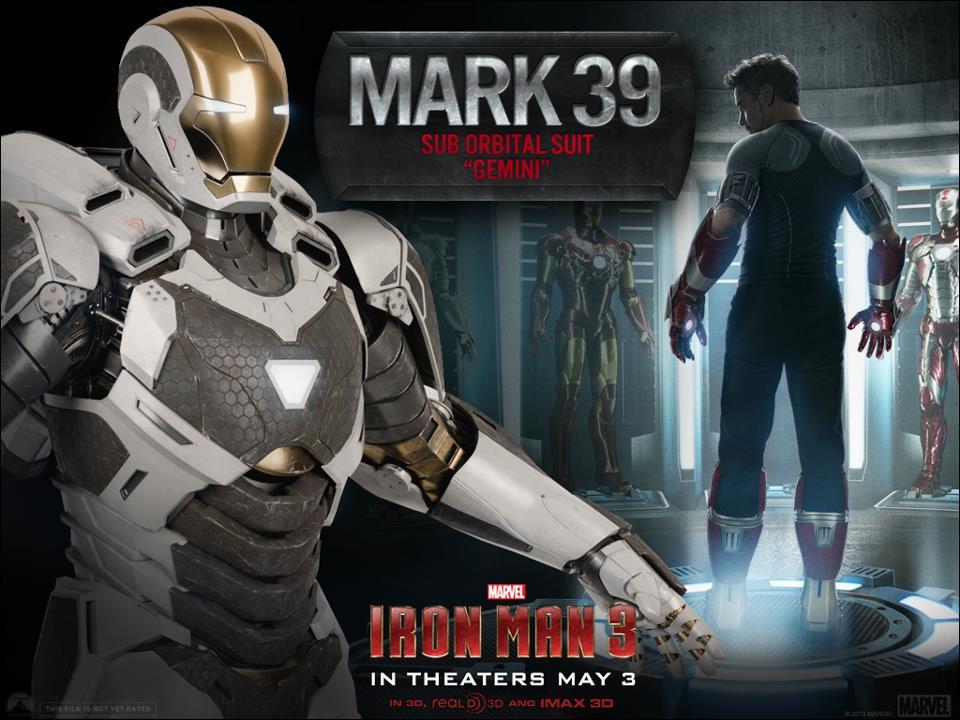 Iron Man 3 - Armors - Mark 39 (Gemini - Close)