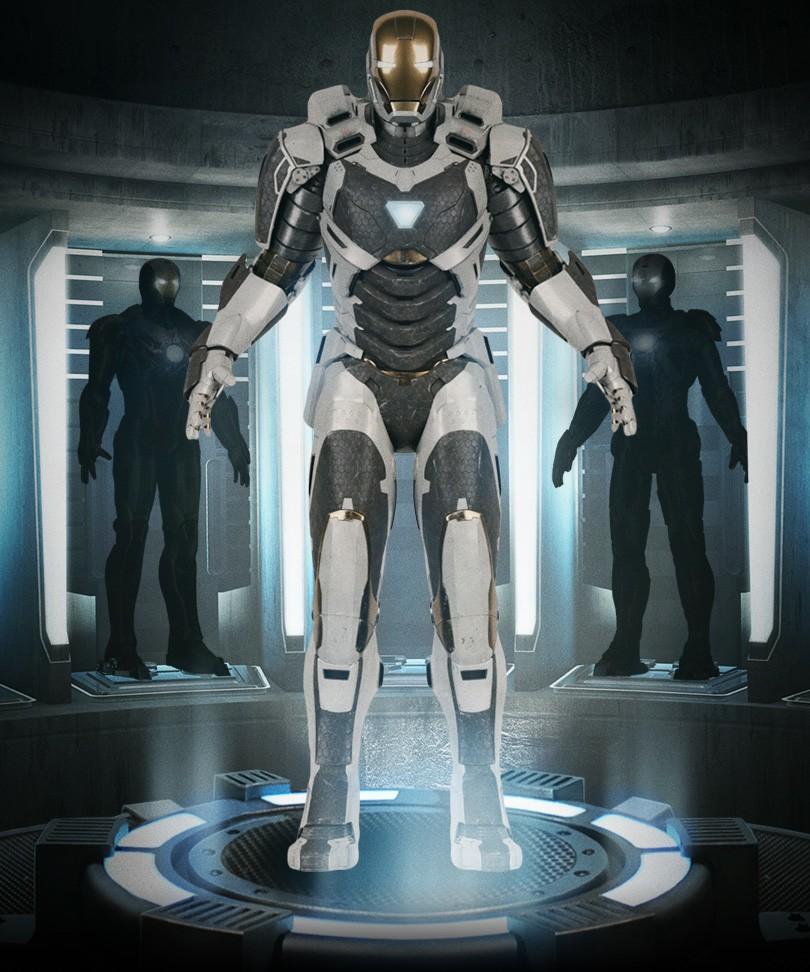 Iron Man 3 - Armors - Mark 39 (Gemini - Full)