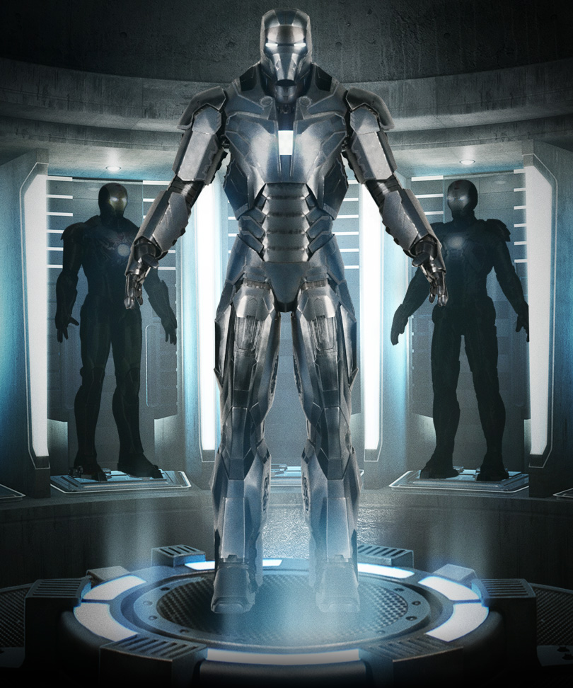 Iron Man 3 - Armors - Mark 40 (Shotgun - Full)