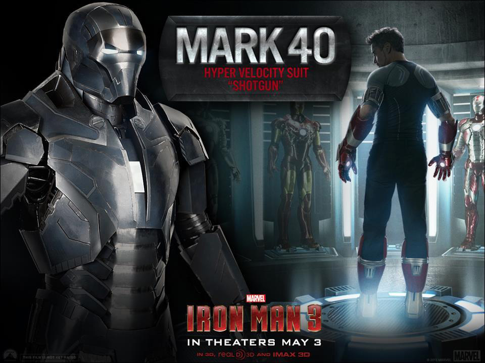 Iron Man 3 - Armors - Mark 40 (Shotgun)