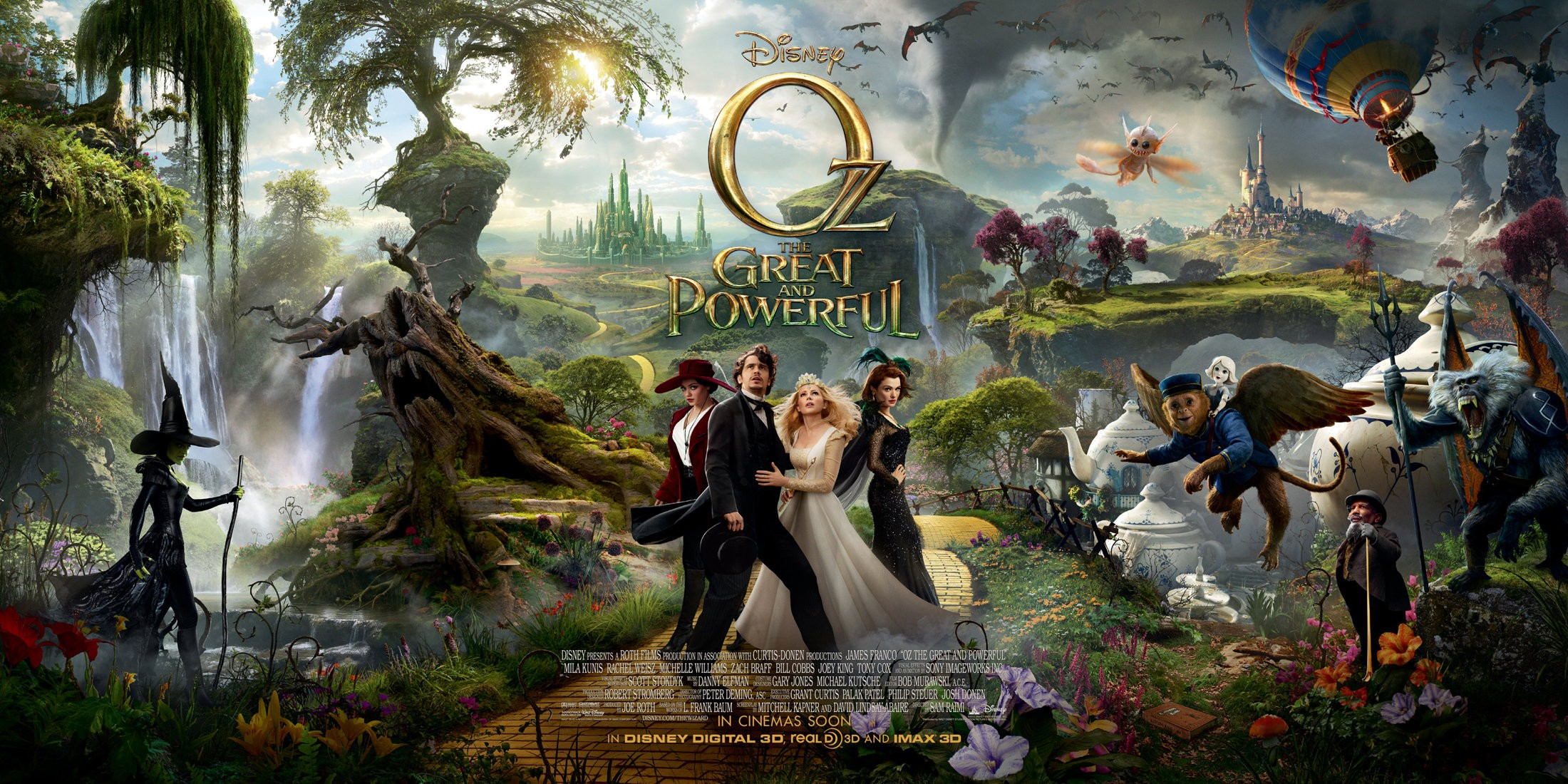 Oz The Great and Powerful - Banner - 002