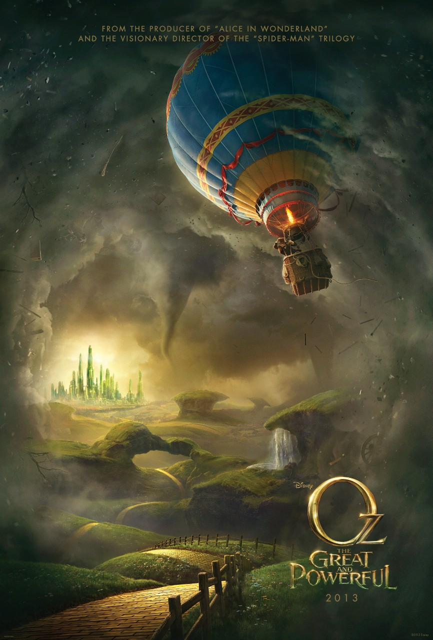 Oz The Great and Powerful - Poster - 001