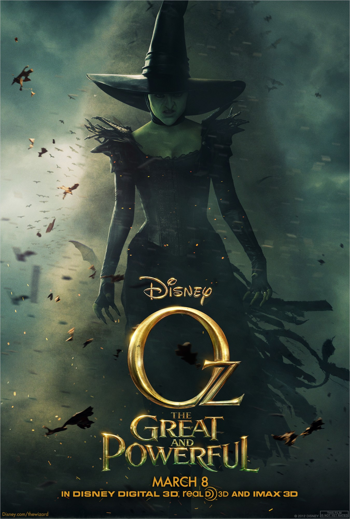 Oz The Great and Powerful - Poster - 003