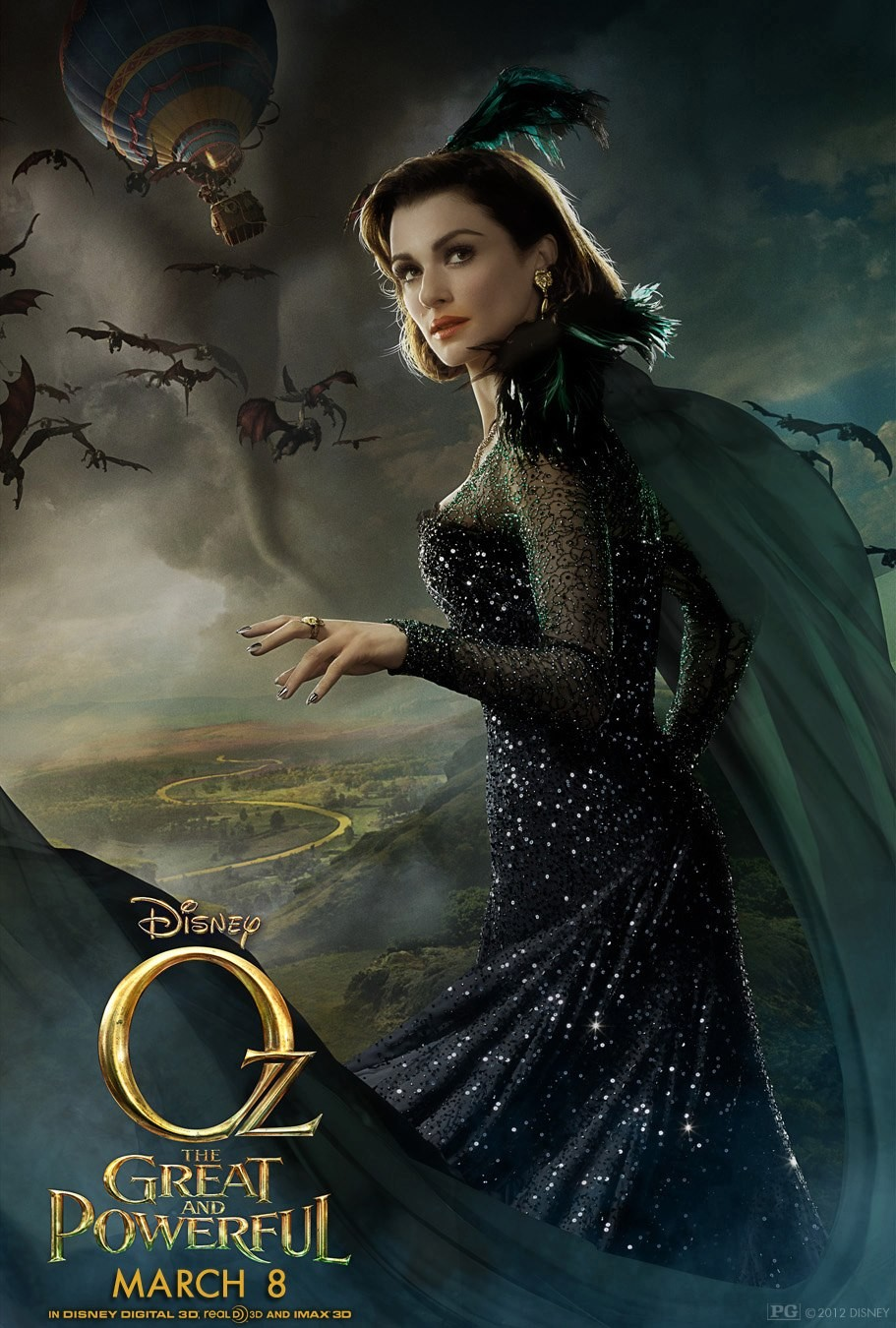Oz The Great and Powerful - Poster - 005