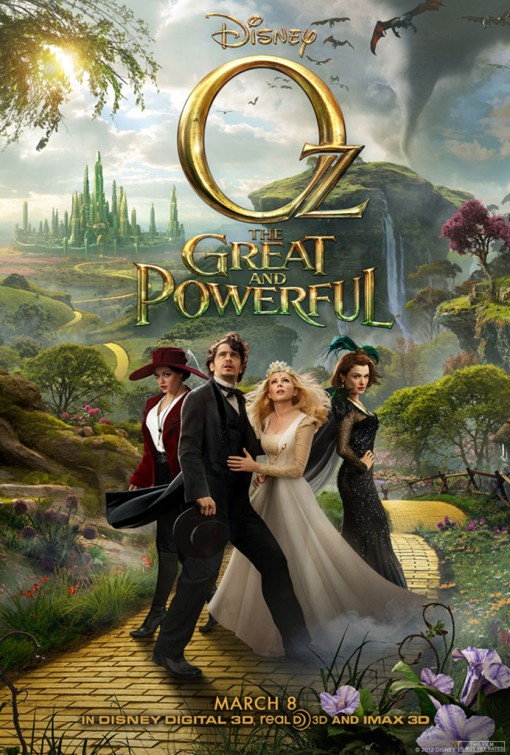 Oz The Great and Powerful - Poster - 009
