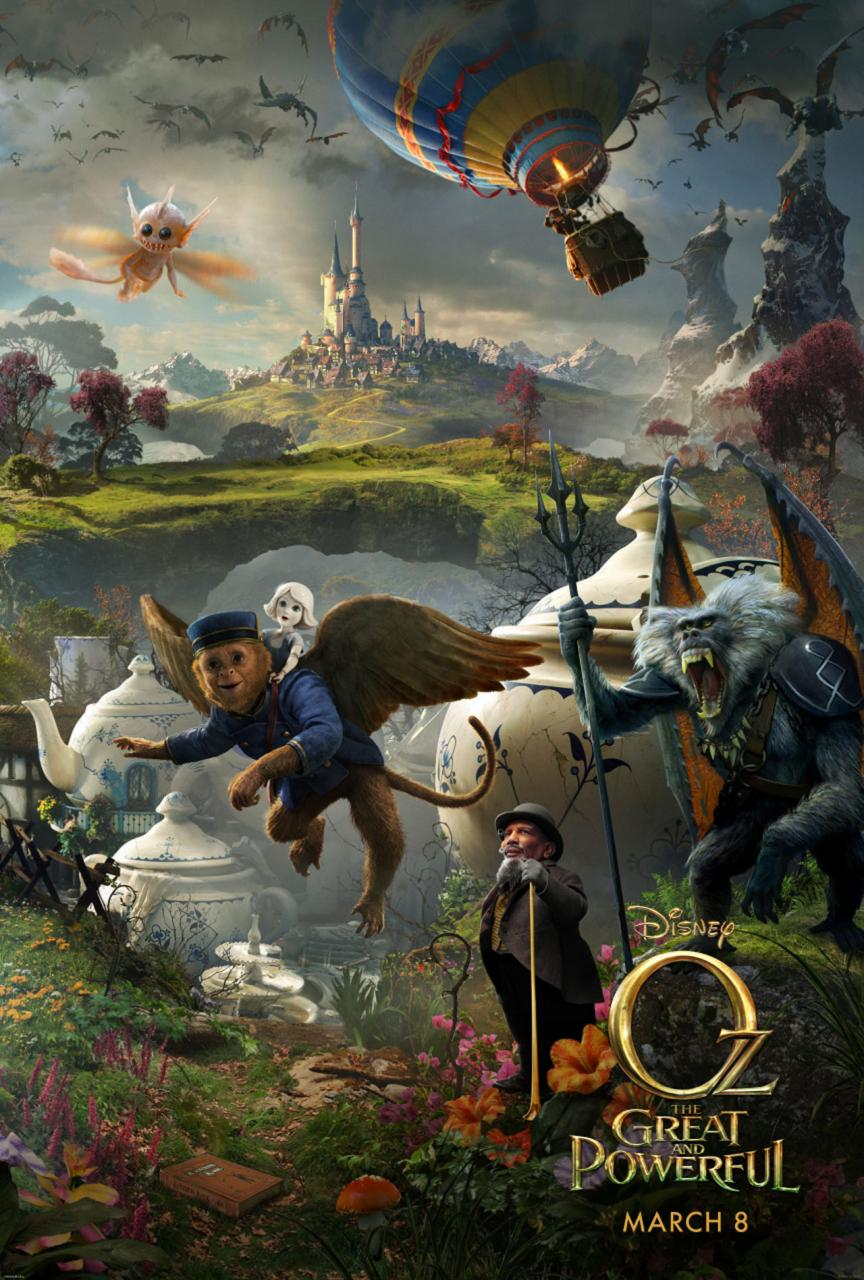 Oz The Great and Powerful - Poster - 010