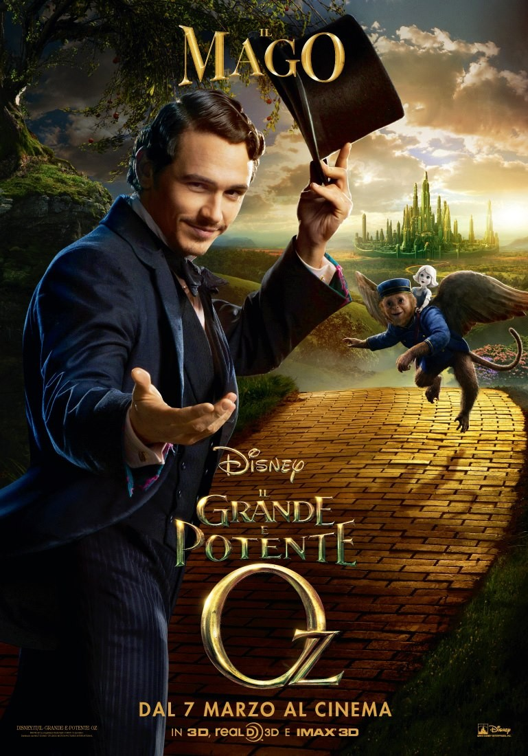 Oz The Great and Powerful - Poster - 012