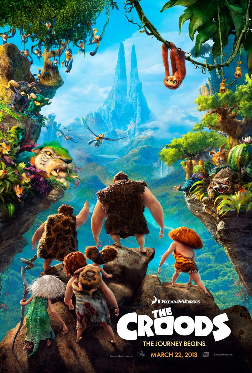 The Croods - Poster