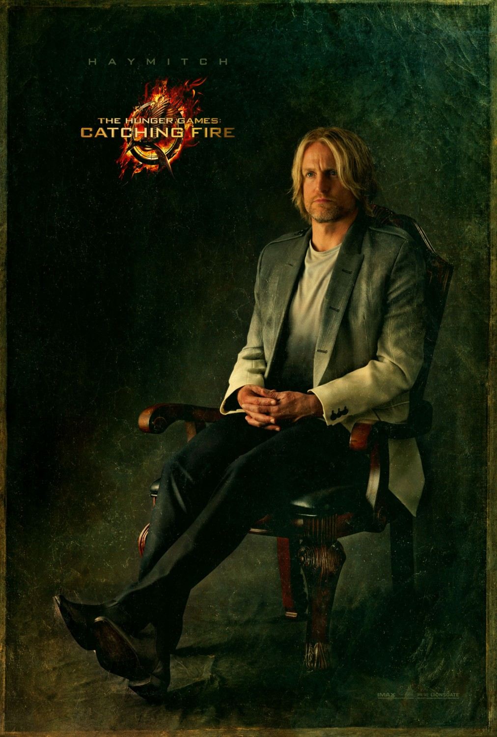 The Hunger Games Catching Fire - Poster - 006 - Haymitch Abernathy