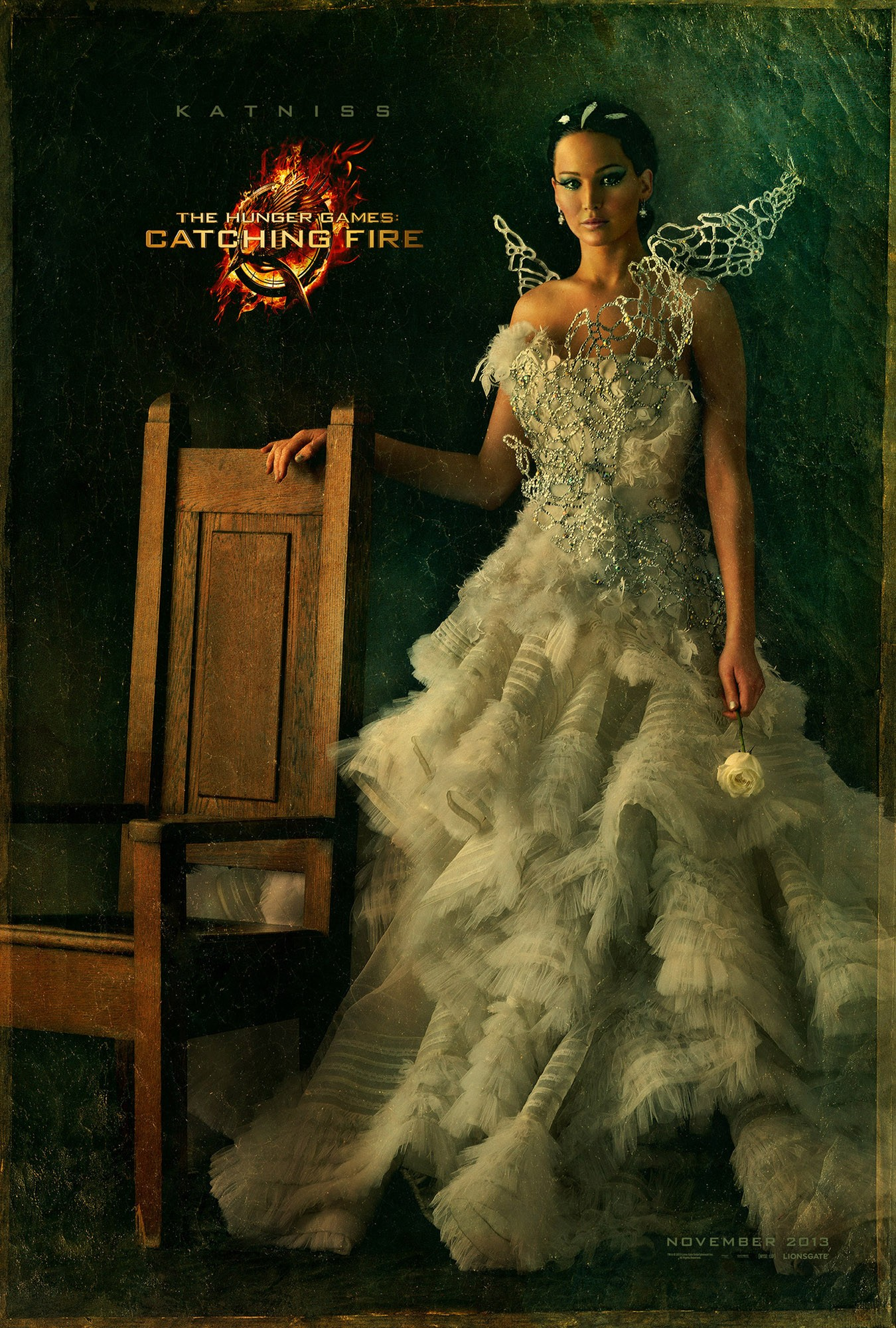 The Hunger Games Catching Fire - Poster - 008 - Katniss