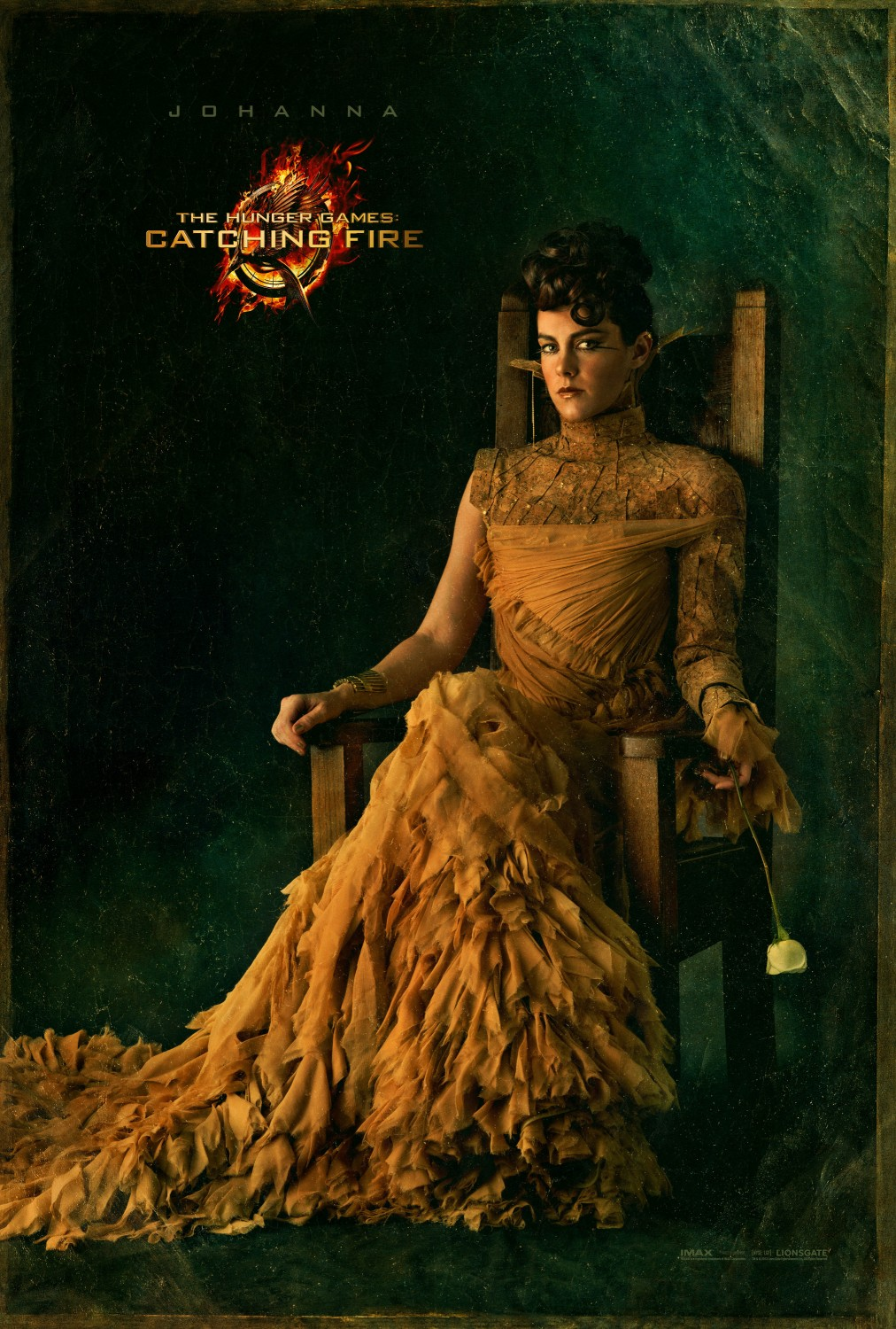 The Hunger Games Catching Fire - Poster - 010 - Johanna