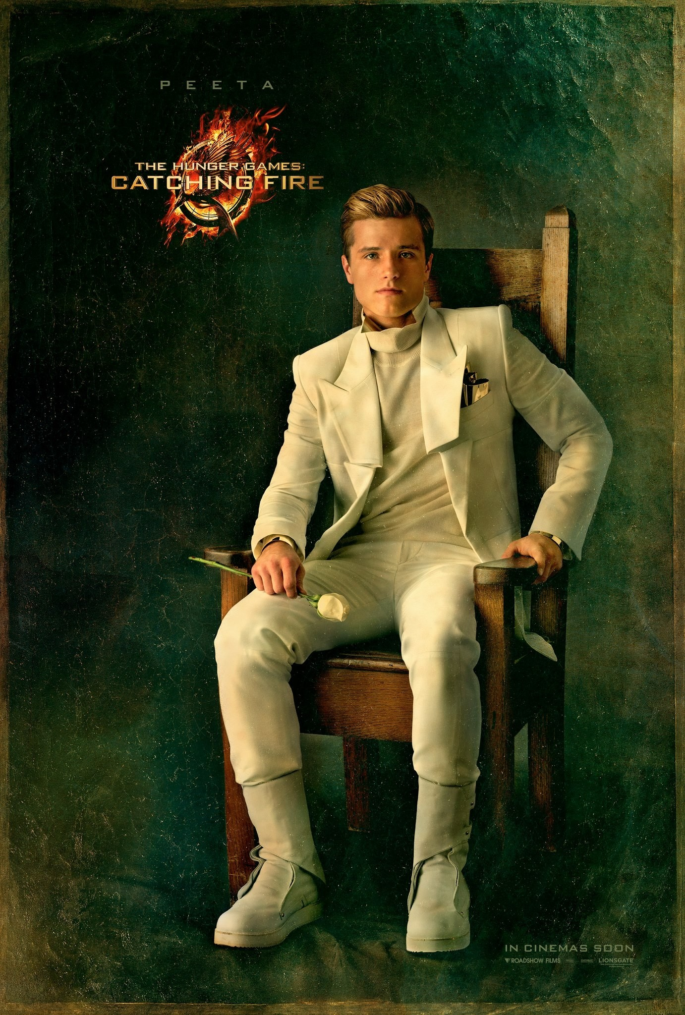 The Hunger Games Catching Fire - Poster - 011 - Peeta