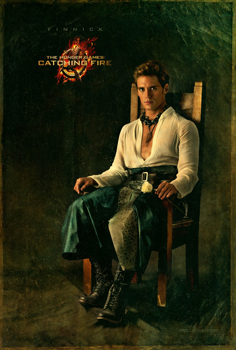 The Hunger Games Catching Fire - Poster - 013 - Finnick