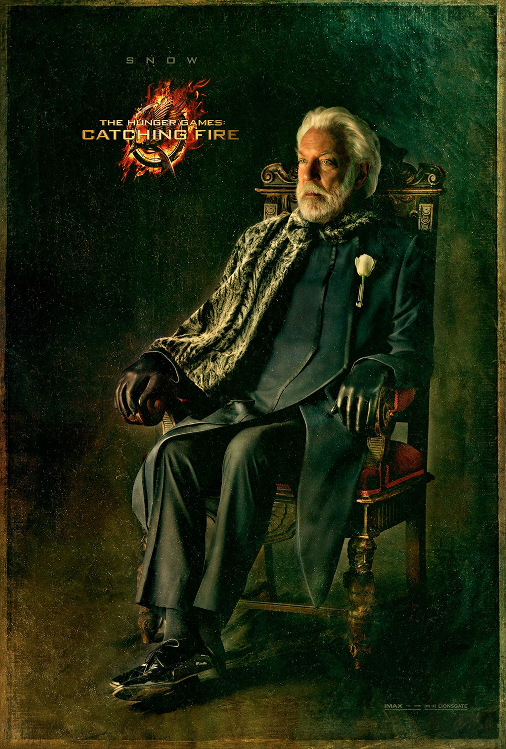 The Hunger Games Catching Fire - Poster - 014 - President Snow
